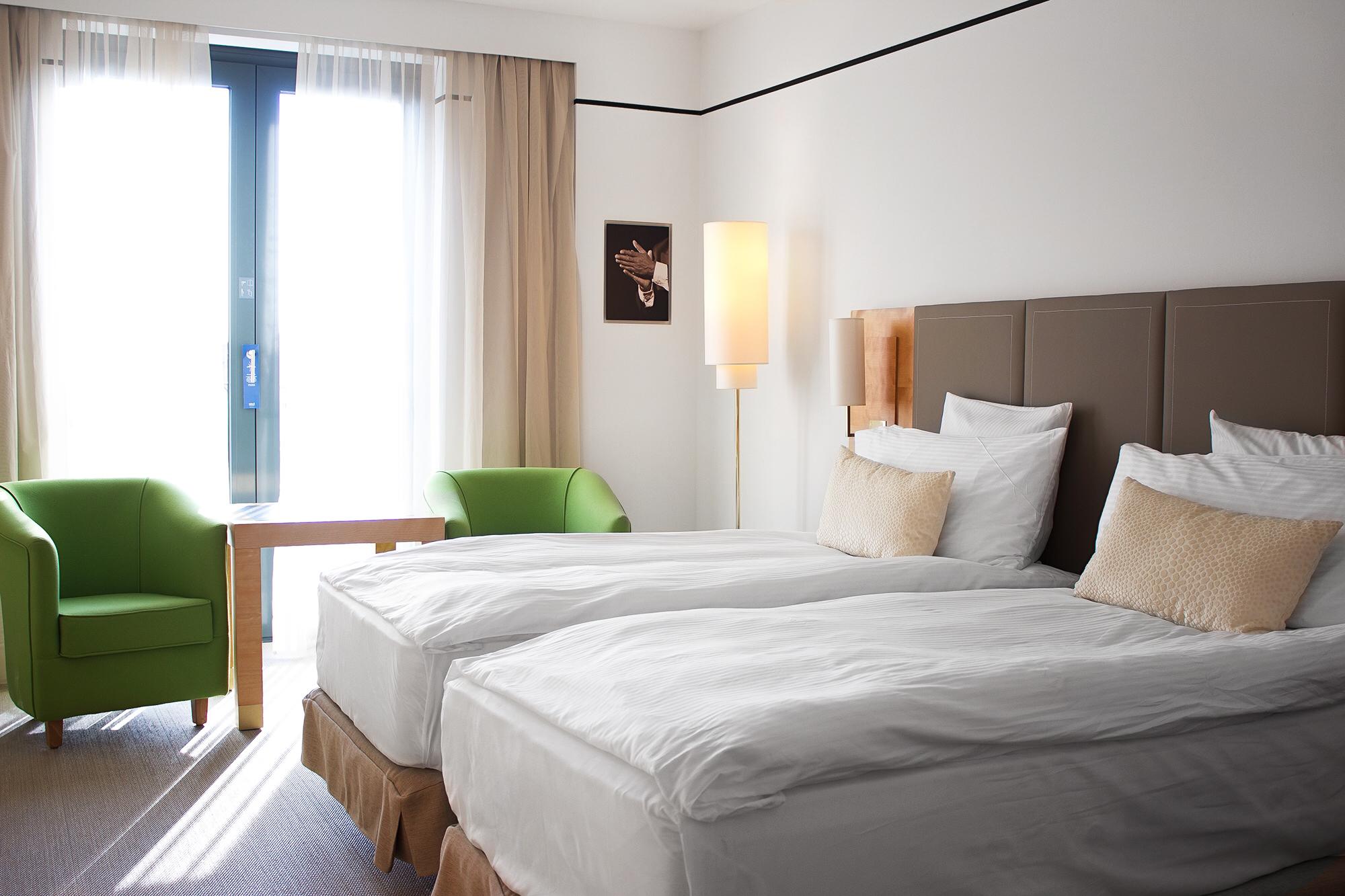 Hotel Meliá Berlin, Hotelzimmer, Hotelbericht