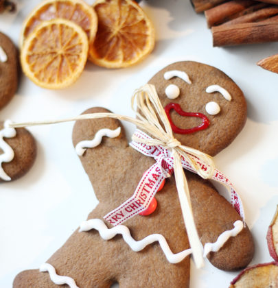 In der Weihnachtsbäckerei