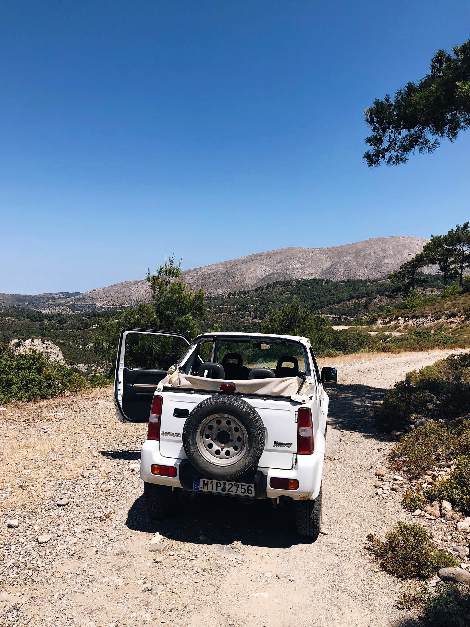 travel guide, rhodos, lindos, bumpy rhodes safaris